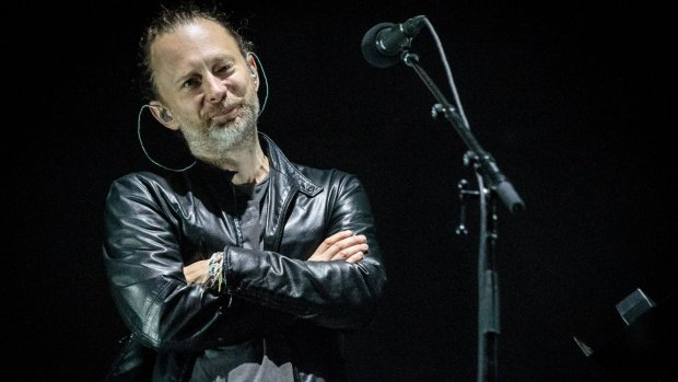 Thom Yorke geeft soloshow in Carré
