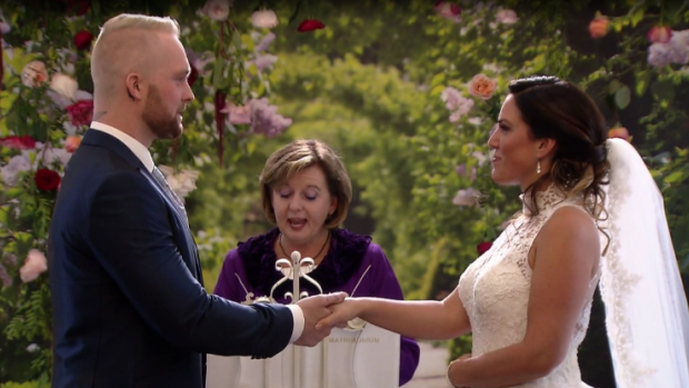 Je kan nu deze trouwjurk uit MAFS kopen voor een prikkie
