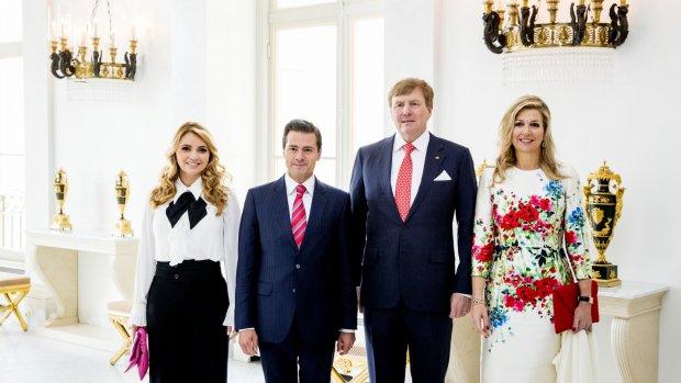 Koningin Máxima steelt de show tijdens Mexicaans bezoek