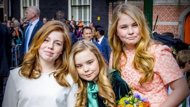 Koninklijke familie schittert in Groningen