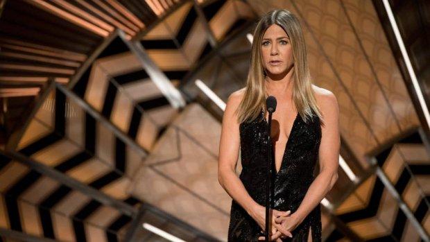 Jennifer Aniston voor het presidentschap