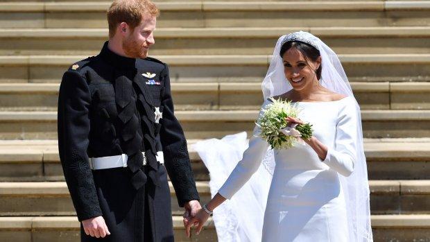 Prins Harry plukte zelf het boeket voor Meghan