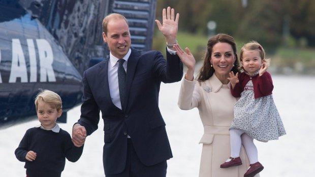 Prins William misschien wel de beste papa van het jaar