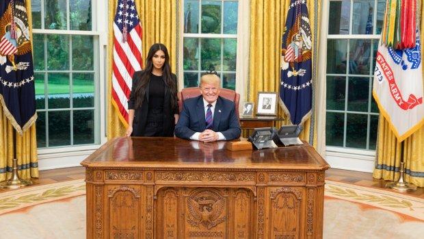 Donald Trump: 'Geweldig gesprek met Kim Kardashian'