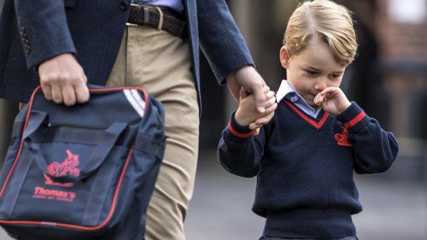 De kleine prins George wordt extra beveiligd