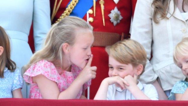 Hilarisch: Prins George wordt de mond gesnoerd