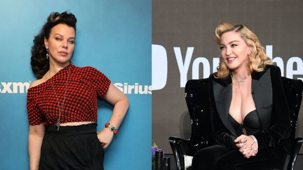 Younger-actrice en Madonna haten 13 Reasons Why