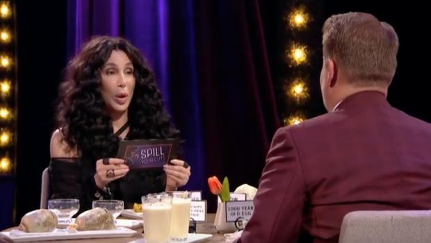 Cher eet enorme koeientong