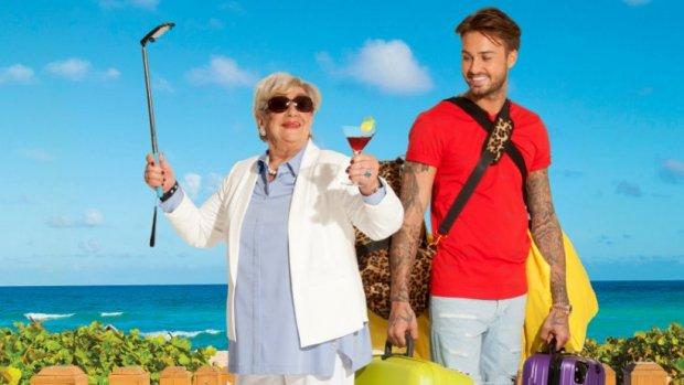 Dave gaat naar Ibiza met zijn oma