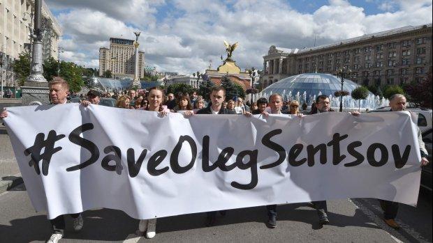 Kritieke situatie voor hongerende regisseur Oleg Sentsov