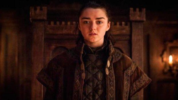 Arya Stark hint naar einde Game of Thrones