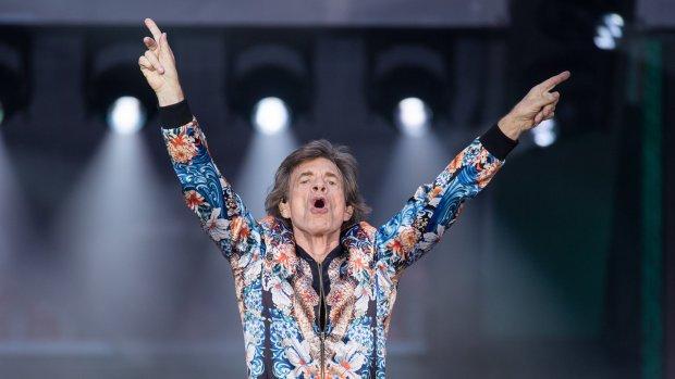 Mick Jagger juicht voor Engeland