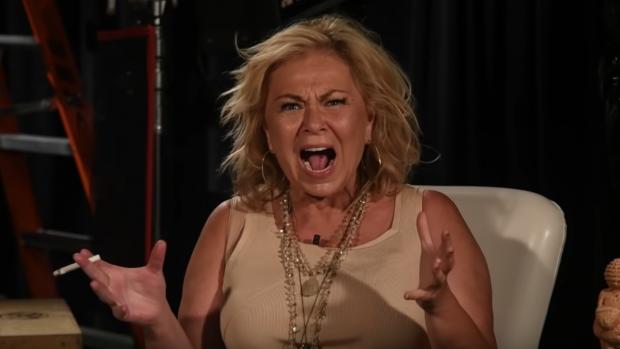Roseanne Barr draait he-le-maal door