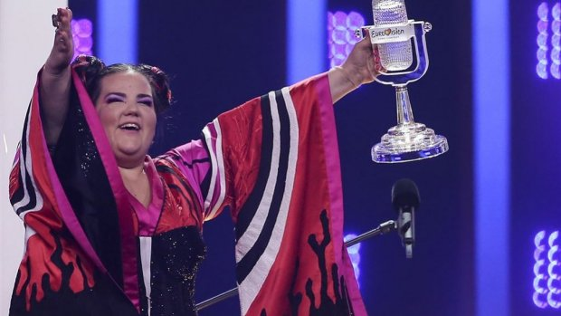 Winnares Netta hoopt op songfestival in Jeruzalem
