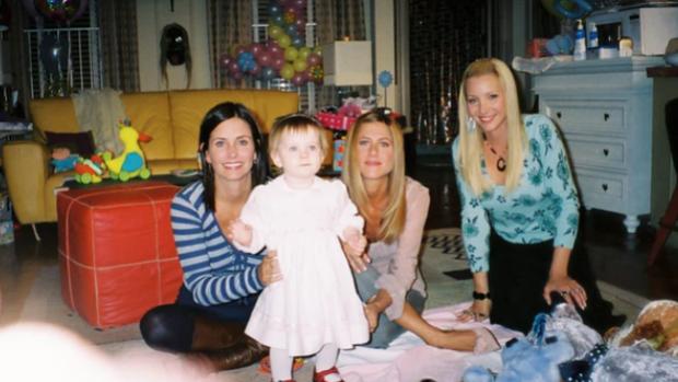 Zo mooi is baby Emma uit Friends opgedroogd