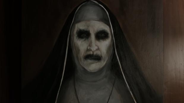 Teaser horrorfilm The Nun te eng voor YouTube