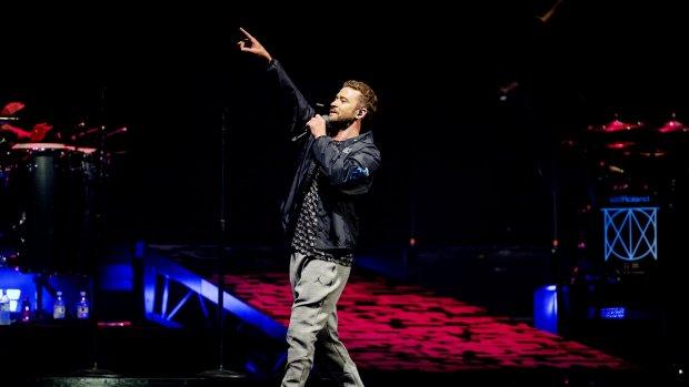 Justin Timberlake voelt zich helemaal thuis in Nederland