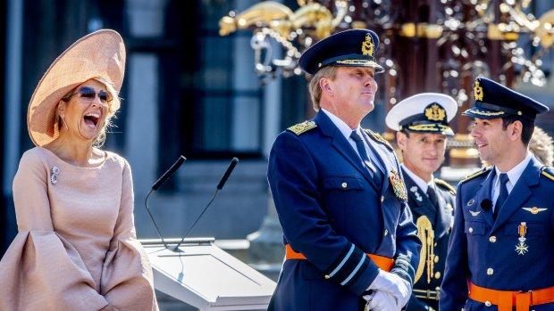 Ha-Ha-Holland: koningin Máxima giert het uit