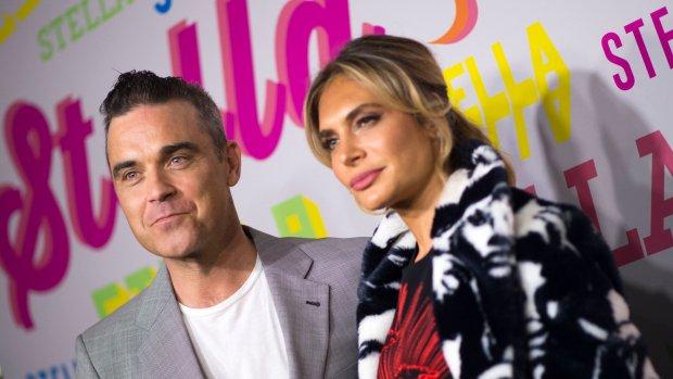 Hoera: opnieuw beschuit met muisjes voor Robbie Williams
