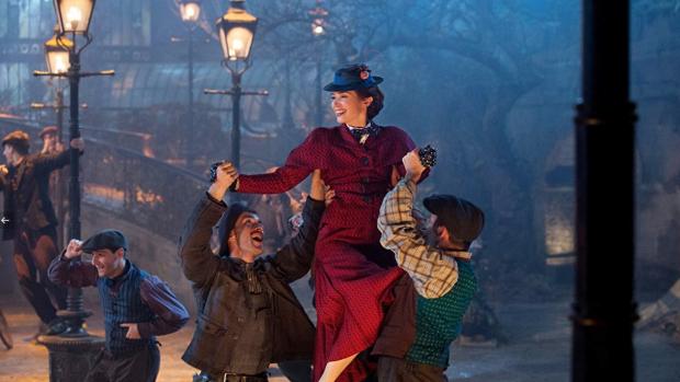 Nieuwe magische beelden Mary Poppins Returns