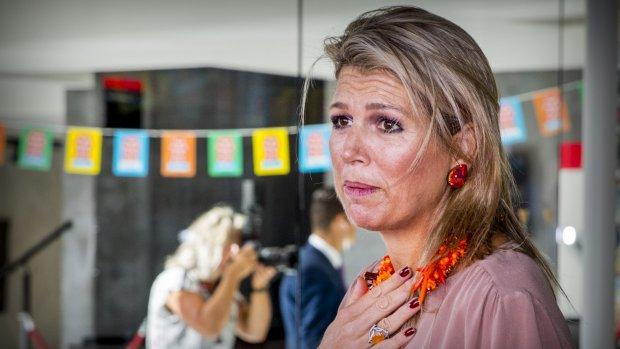 Koningin Máxima reageert op drama in Oss: 'Geen woorden voor'