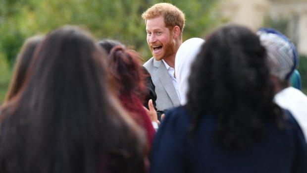 Cameraman betrapt prins Harry op heterdaad