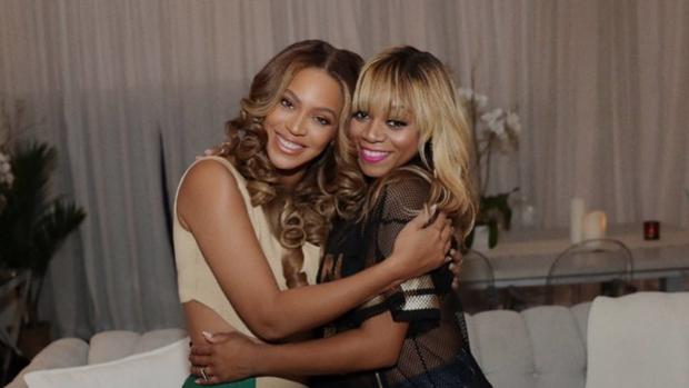 Beyoncé ziet Destiny's Child LaTavia na 18 jaar weer terug