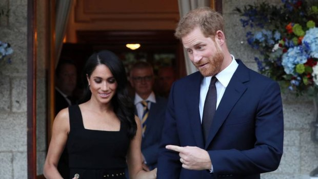 'Harry en Meghan zetten de bloemetjes buiten in onze hoofdstad'