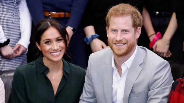 Harry en Meghan verwachten eerste kindje