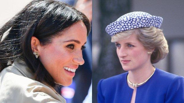 'Prinses Diana zou geen fan zijn geweest van Meghan Markle'
