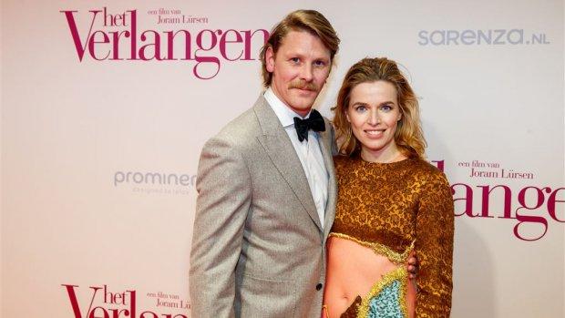 Thekla Reuten en Gijs Naber trotse ouders van een zoon