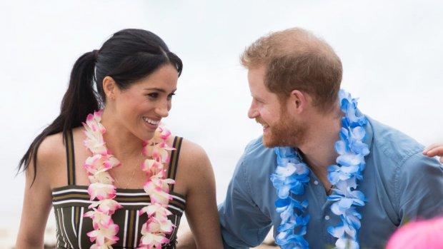 Feestelijke ontmoeting voor Prins Harry en Meghan