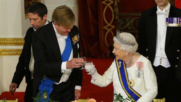 Hiervan smulden Willem-Alexander en Máxima bij The Queen