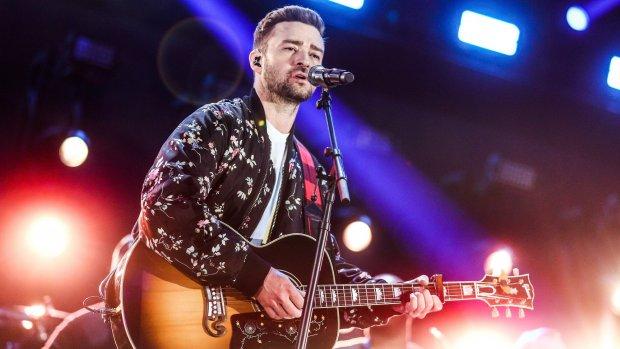 Justin Timberlake moet zijn fans teleurstellen