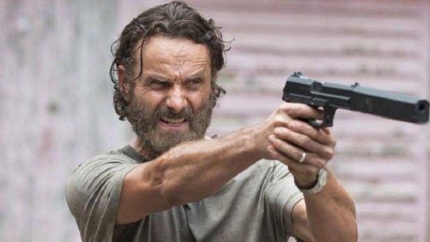 Andrew Lincoln neemt nog geen afscheid van The Walking Dead