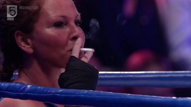 Drama! Michella Kox geeft op in de boksring