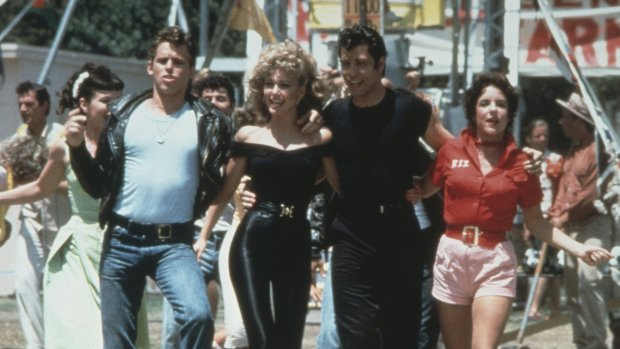 De cast van Grease 40 jaar later