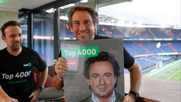 Marco Borsato ontvangt Top 4000 Award