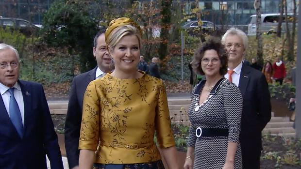 Koningin Máxima blikt vooruit op Amalia's verjaardag