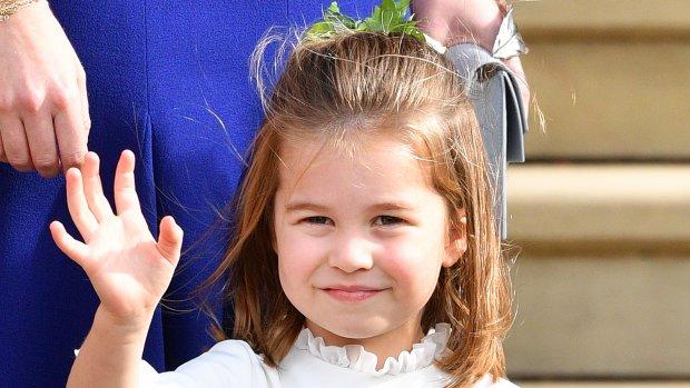 Lief! Prinses Charlotte heeft haar knappe looks van mama Kate