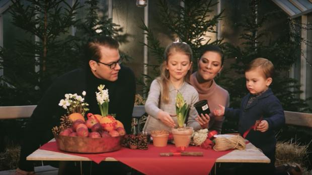 Mierzoet: Het jaarlijkse kerstfilmpje van de Zweedse royals