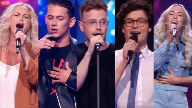 Dit zijn de grote kanshebbers van The voice of Holland