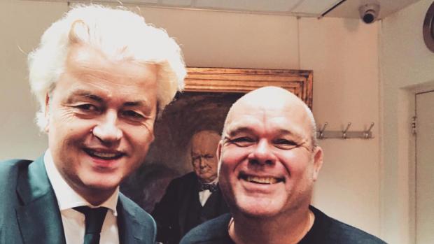 Paul de Leeuw op de koffie bij Geert Wilders