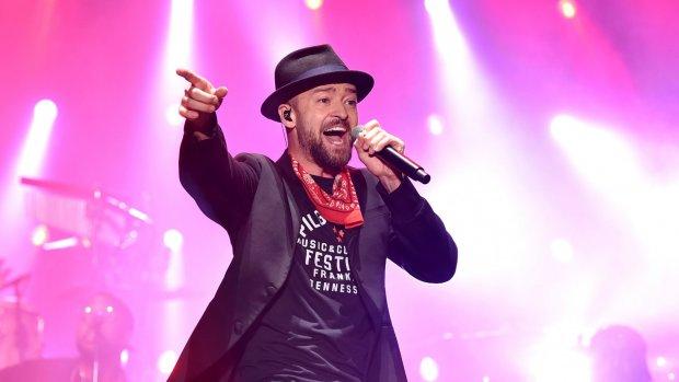 Justin Timberlake kan het podium weer op
