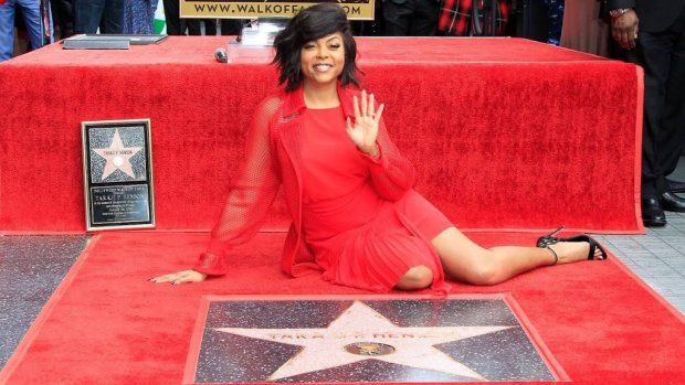 Empire-actrice onthult ster op Walk of Fame