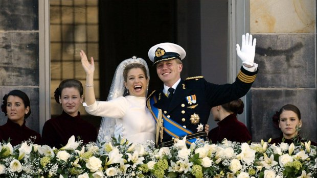 Koning Willem-Alexander en koningin Máxima 17 jaar getrouwd