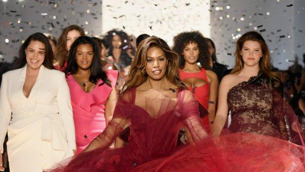 New York Fashion Week in teken van diversiteit