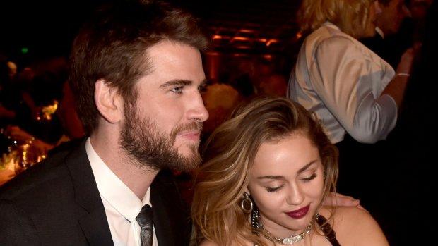 Miley Cyrus nu officieel mevrouw Hemsworth