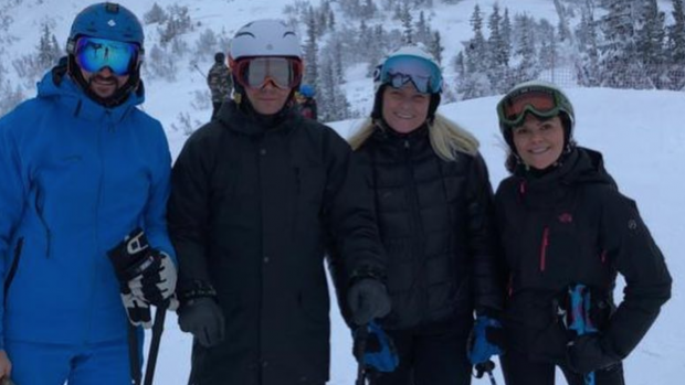 Noorse en Zweedse royals samen op wintersport