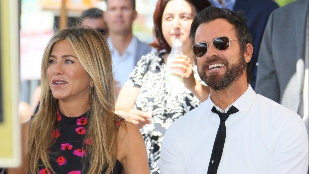 Justin Theroux feliciteert jarige ex Jennifer Aniston